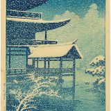 The Golden Pavilion in Snow